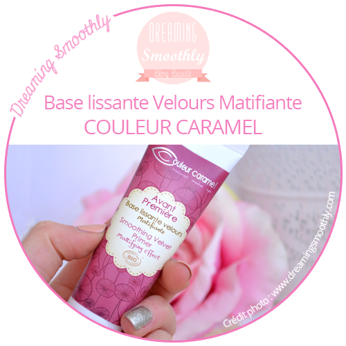 Base Lissante Velours matifiante de Couleur Caramel